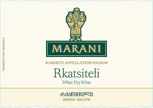 Marani Rkatsiteli - Dry - Rkatsiteli 100%