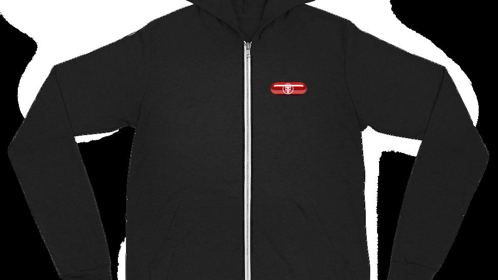 SKULLPILL Unisex zip hoodie