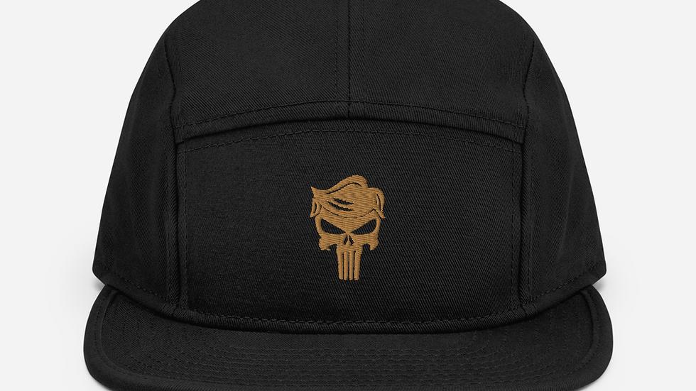 Punisher Trump skull 5 Panel Camper hat