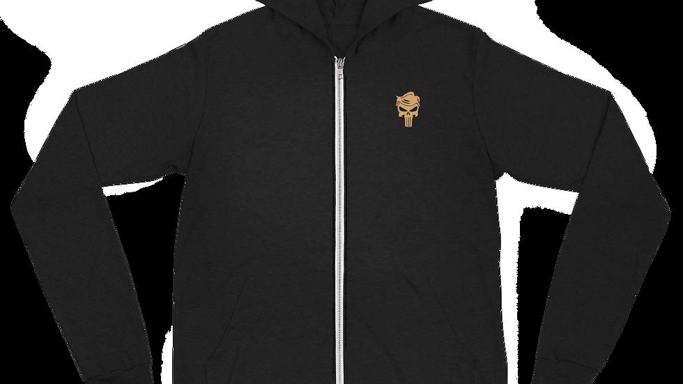 don 45 Unisex zip hoodie