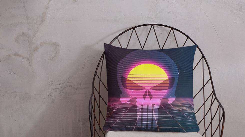 skull wave Premium Pillow