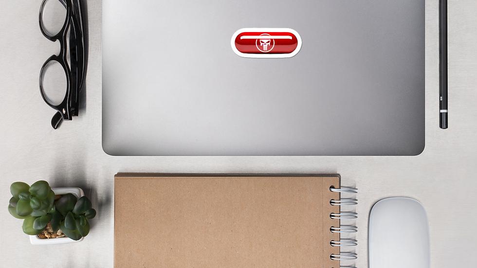 redpill Bubble-free stickers