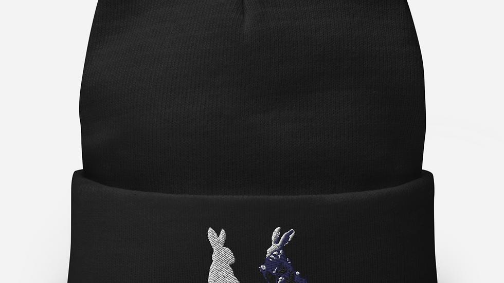 Bunnies Embroidered Beanie