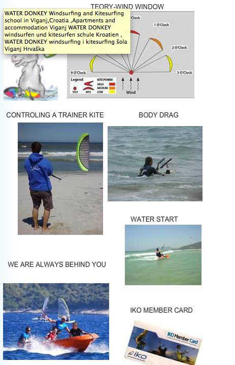 Kitesurfing skola
