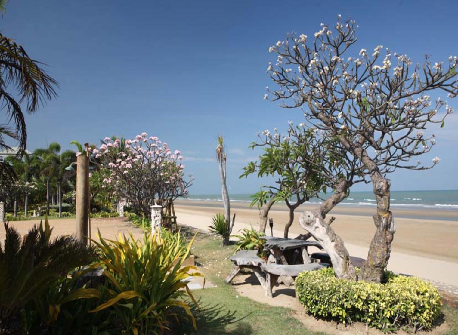 Na tropskem vrtu ali plaži?
