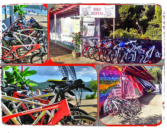 bike rental in Viganj Croatia
