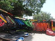 Najam skolske windsurf opreme
