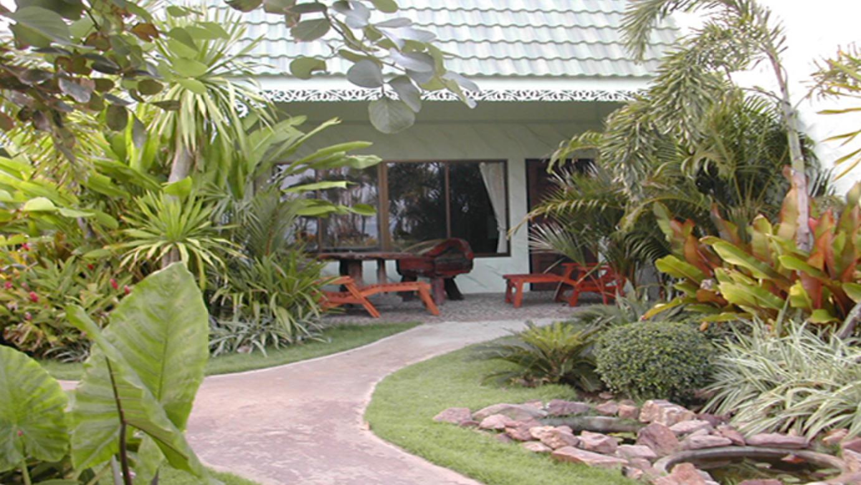 Vhod v bungalow