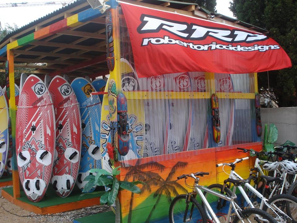 Kitesurf and windsurf center