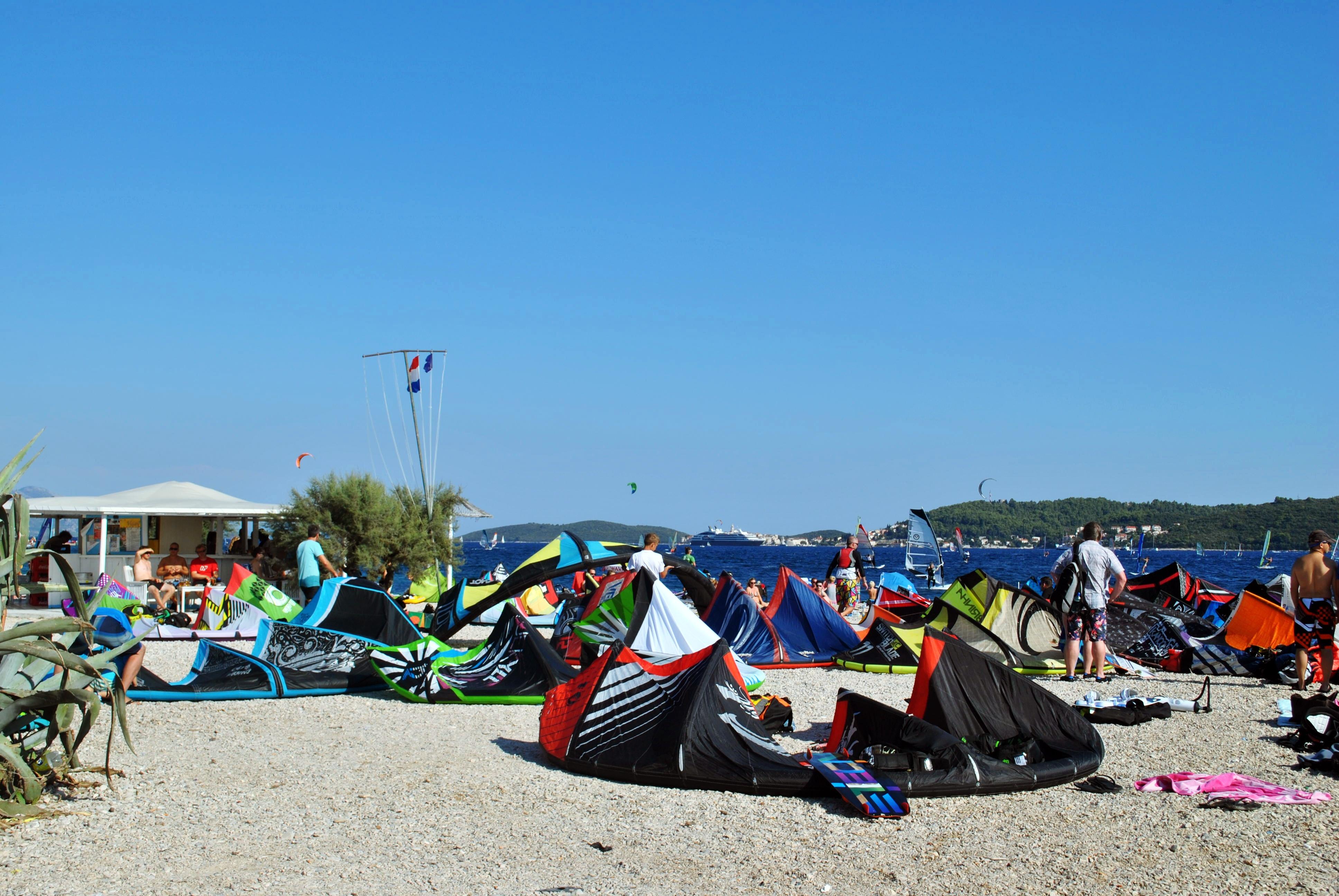 KItesurfing plaža
