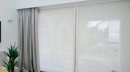 Duże okno tarasowe