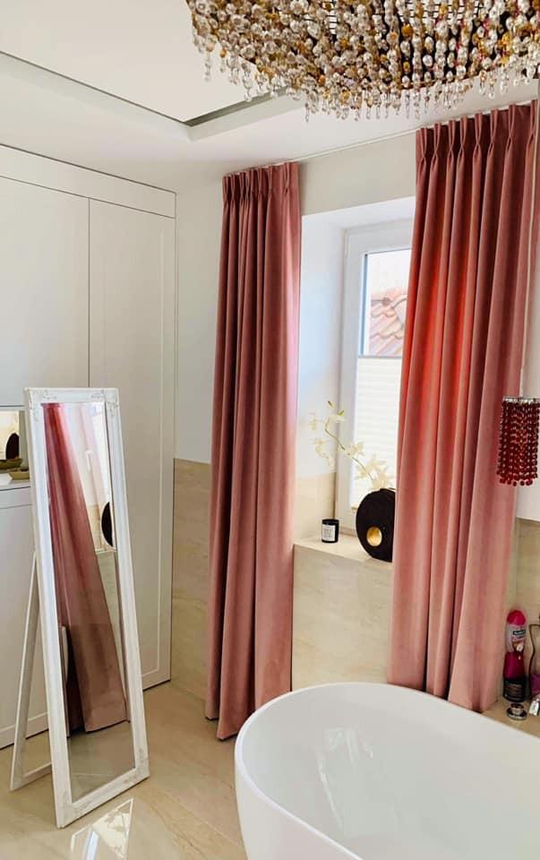 Glamour pokój kąpielowy