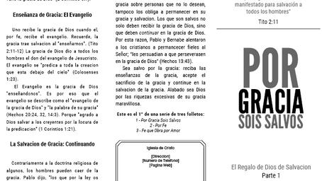 Por Gracia PT. 1/3