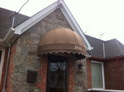 Dome Awning for a Private Home