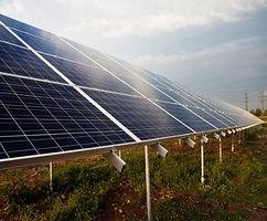 Solar energy installed