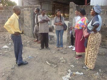 Luashya market constructed via CSER fund by Luashay mine
