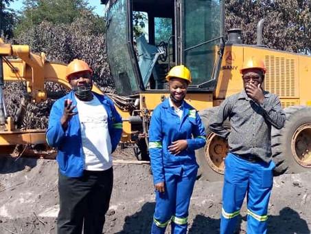 COLLUM COAL MINE  REHABILITATES ROAD IN NKANDABWE WARD OF SINAZONGWE DISTRICT