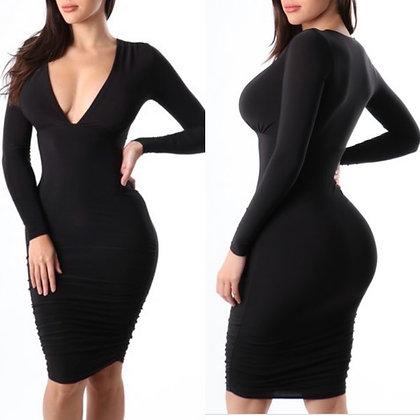 Black JAI DRESS