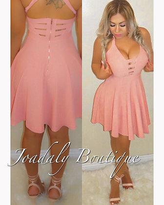 Sweet as Peach -Dress