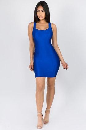 Royal Blue LADY Dress