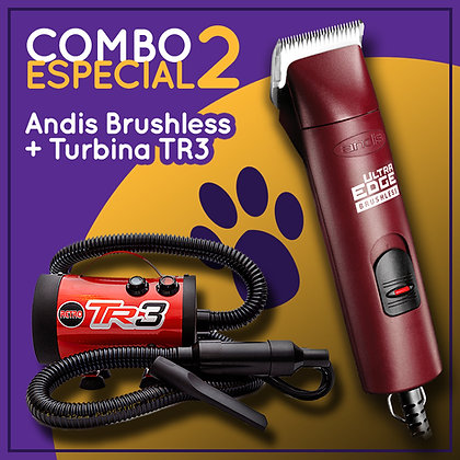 Combo 2  Andis Brushless + TR3