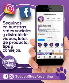 Seguinos en las redes Scooby Shop Argentina