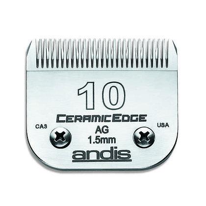 Cuchilla CeramicEdge Nº10 Andis 1.5mm.