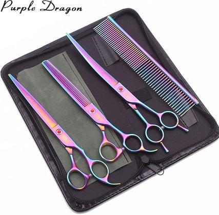 Set 3 Tijeras Purple Dragon