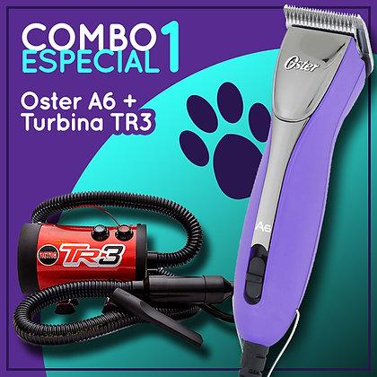 Combo 1 Oster A6 + Turbina TR3