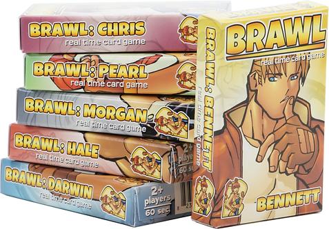 Brawl card set (6 card set)
