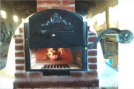 Le fabricamos todo tipo de puerta para hornos y accesorios for Horno de hierro fundido