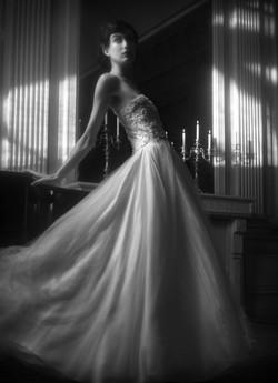 Robe de mariée , robe de bal