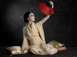 Kimono de soie