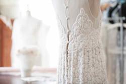Robe mariée en dentelle de Calais