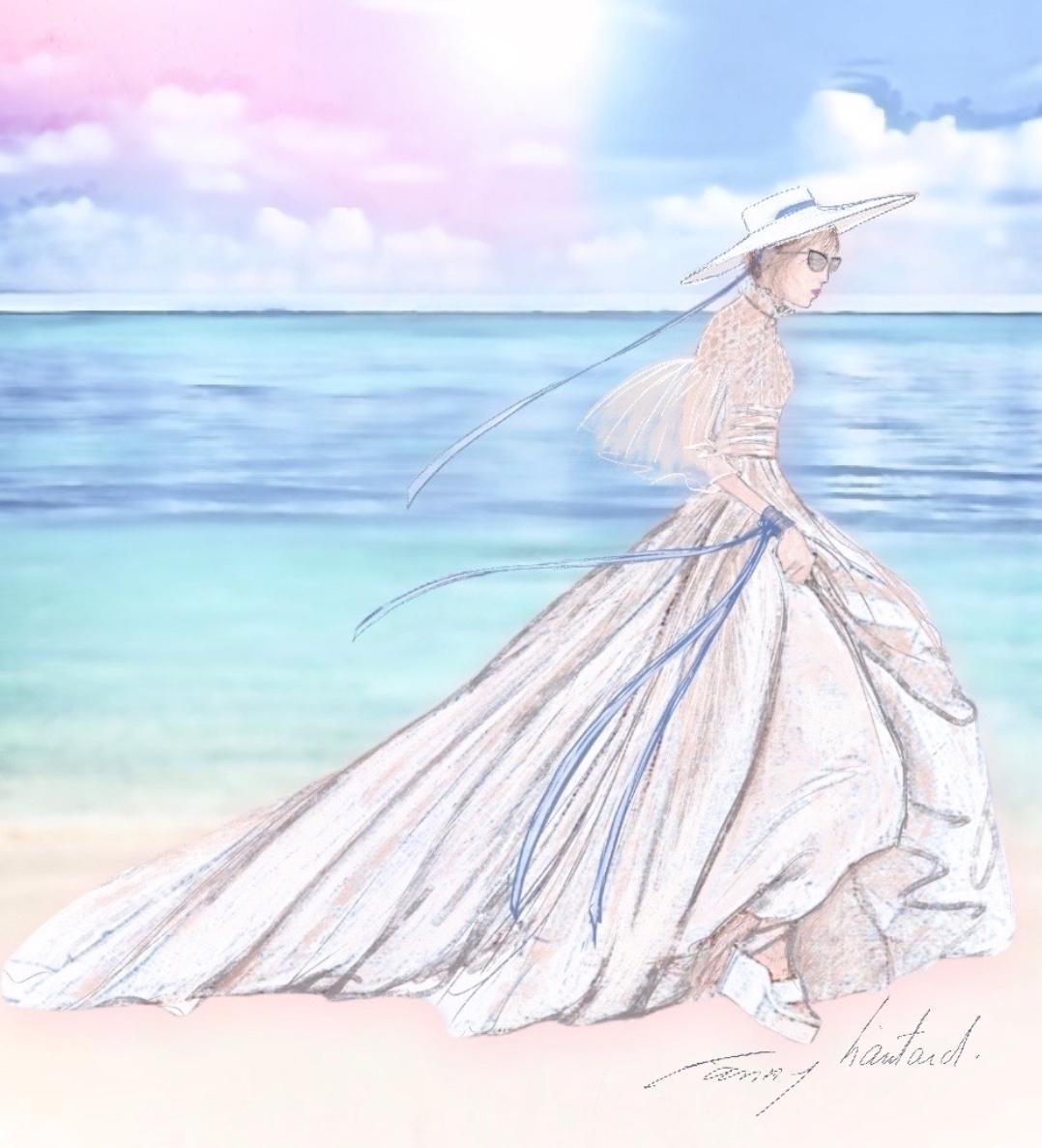 Mariage sur la plage collection 2021