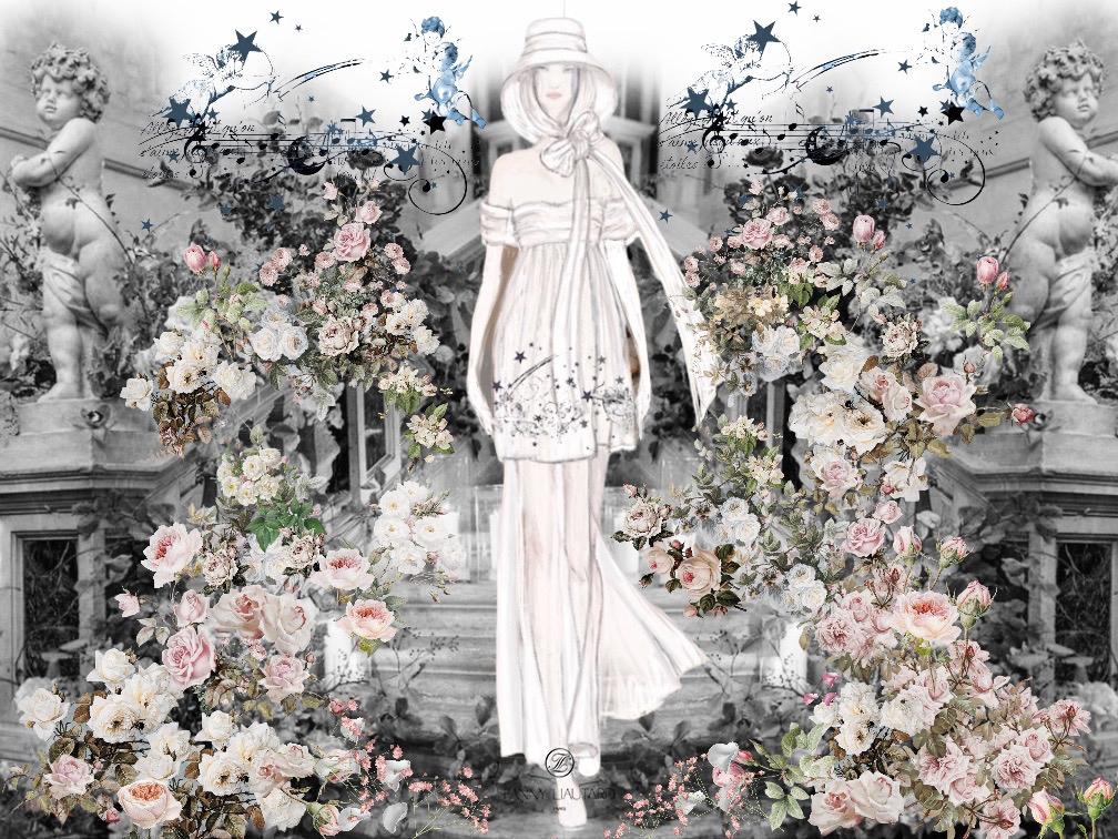 Mariée à Florence #Les anges# Fanny Liau