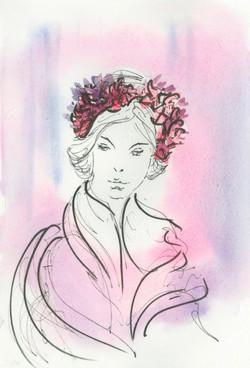 Fanny Liautard, Couronne de Fleurs