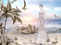 Robe de dentelle sous les tropiques (2) copie