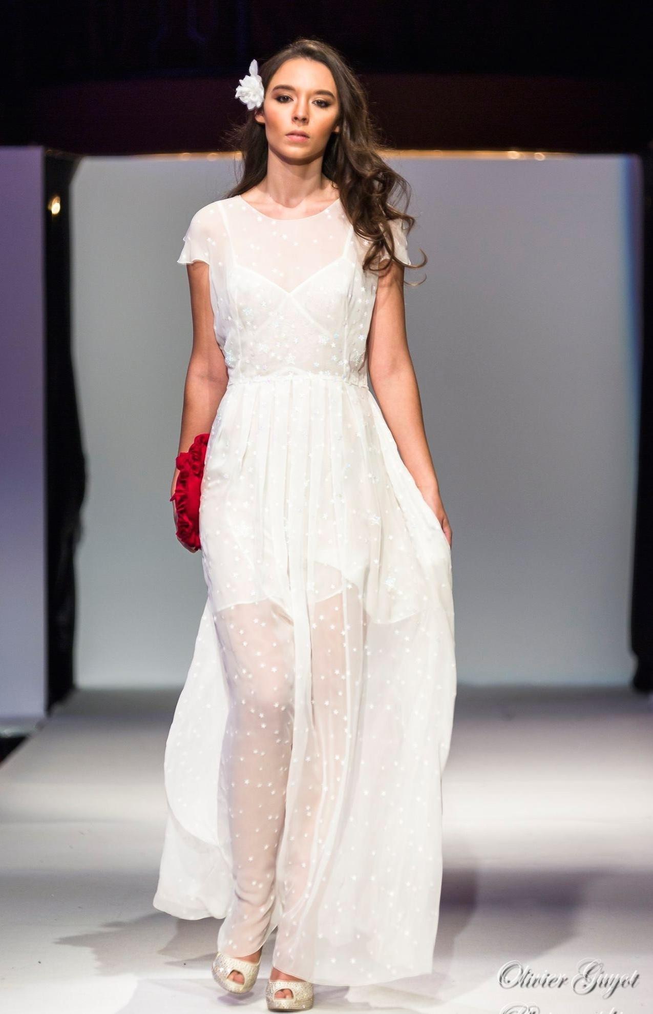 "Robe de mariée ""étoile"""