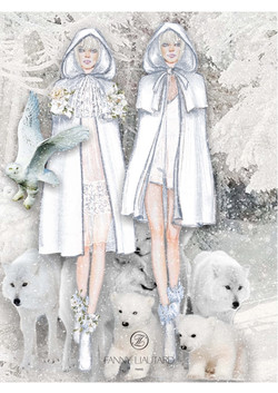 Capes pour mariée