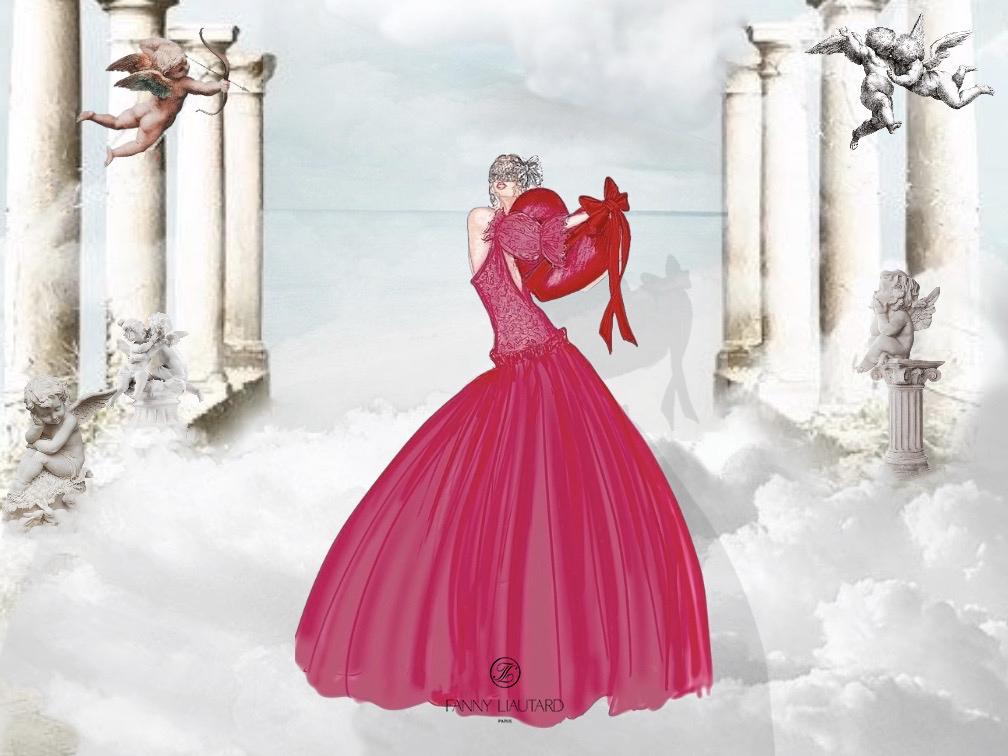 Robe saint Valentin @ FANNY LIAUTARD