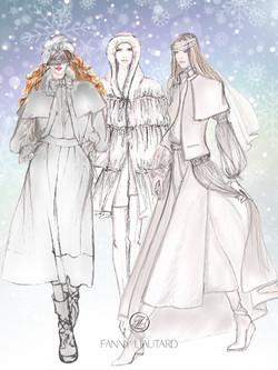 Mariage en hiver .