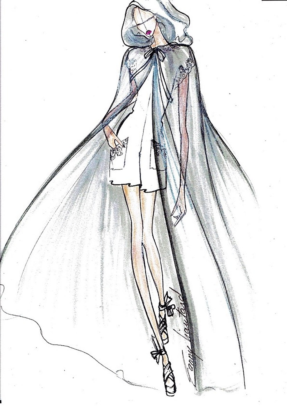 collection robe de mariée paris france liautard dessins