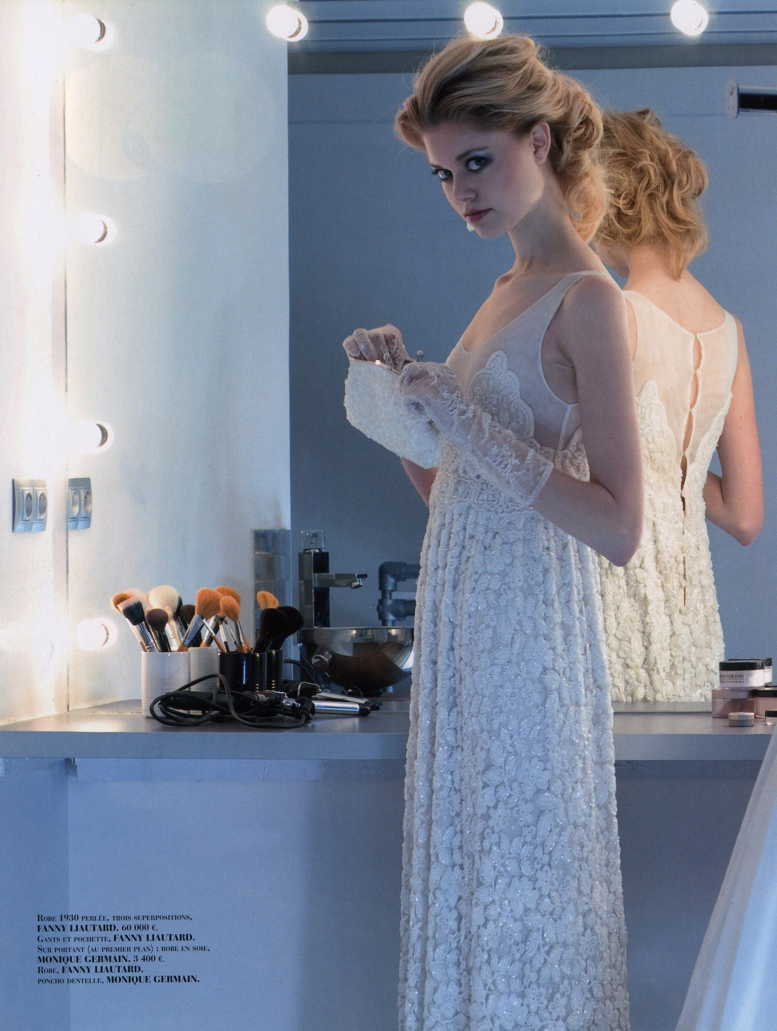 robe de mariée en rétro chic