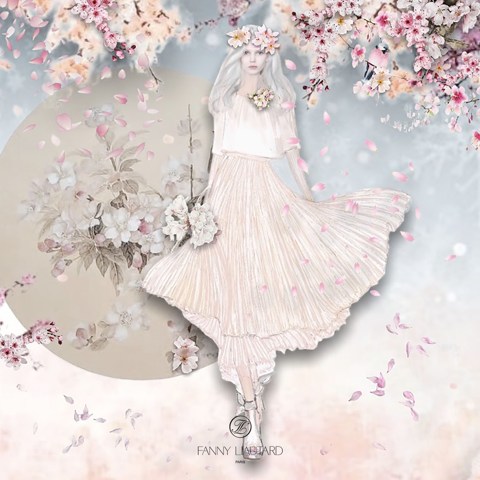 Sakura #robe de mariée #Fanny Liautard