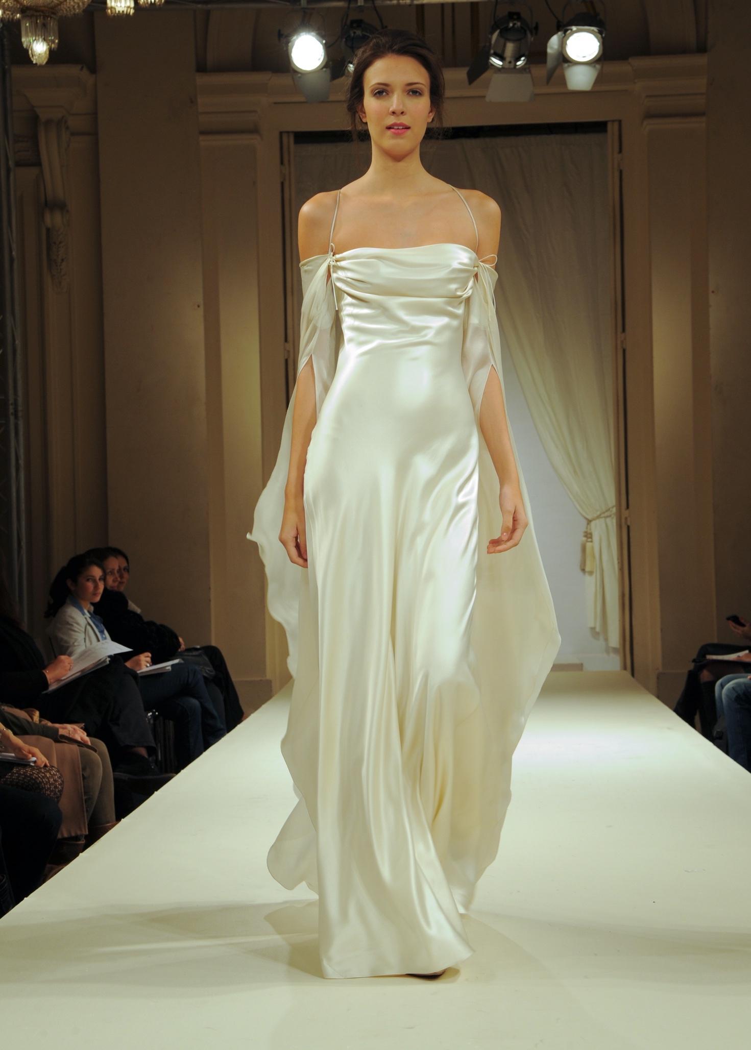Robe glamour et drapé