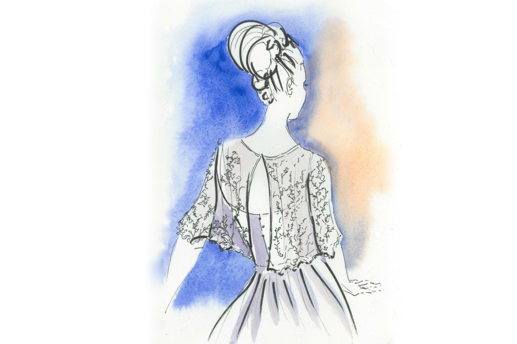 Fanny Liautar Blouse de dentelle
