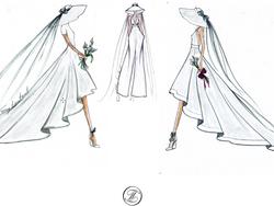 dessins de robes de mariée