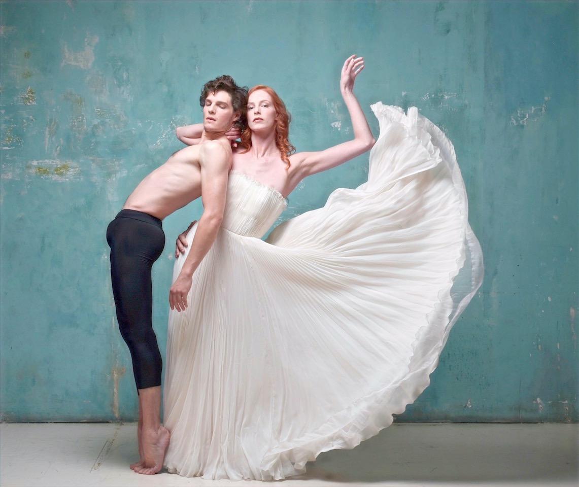 dance dans de la mousseline
