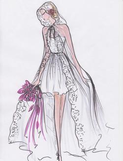 dessin de robe